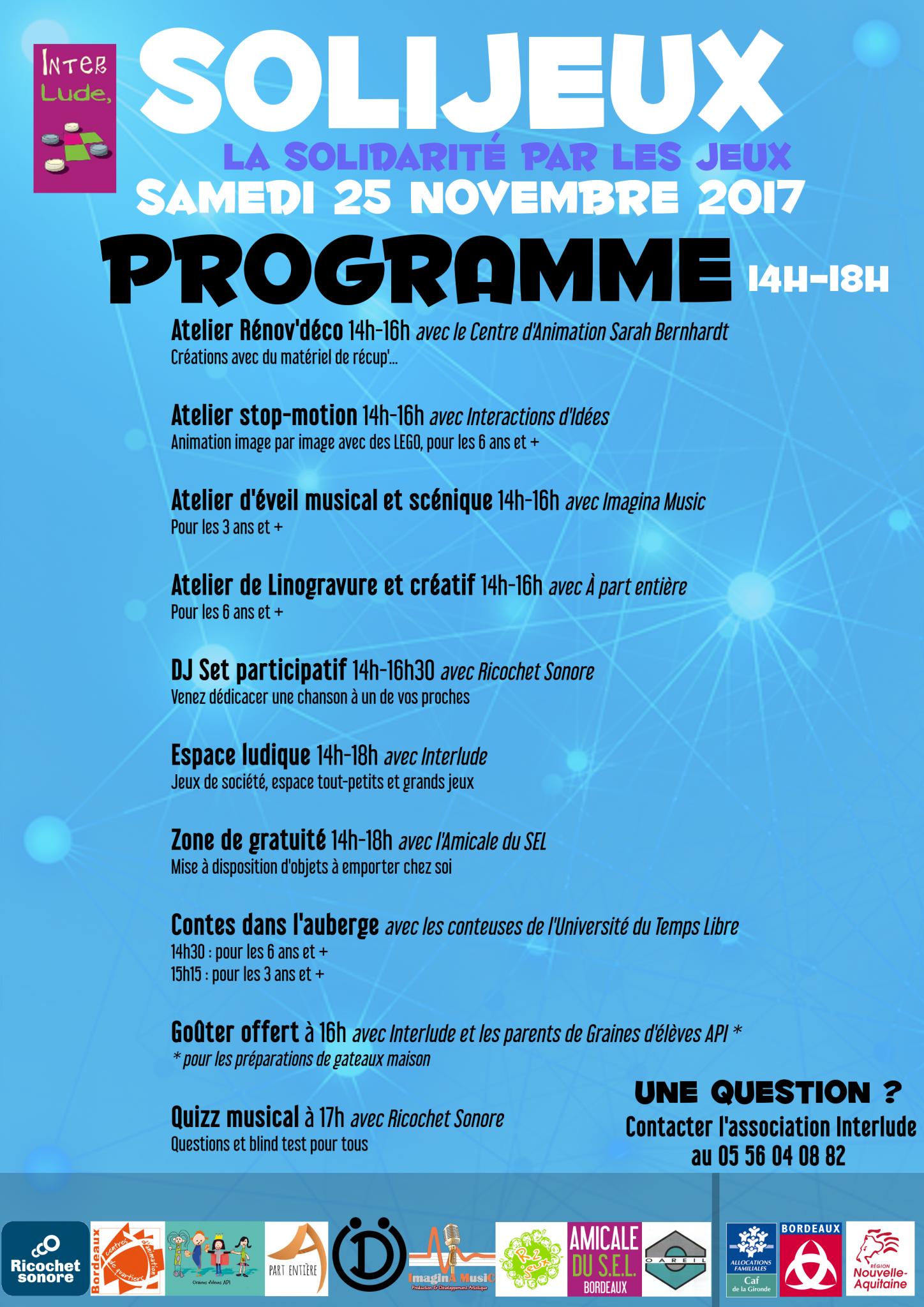 Solijeux programme